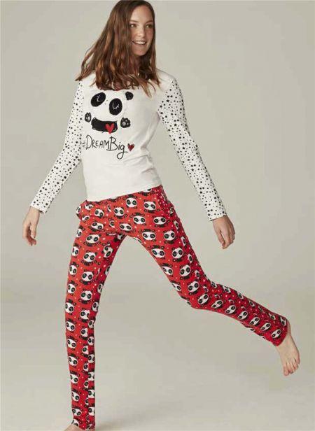 Пижама, хлопок  Feyza 3556