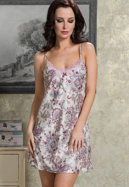 Сорочка атласная для сна Mia-Mia PAOLA 9891