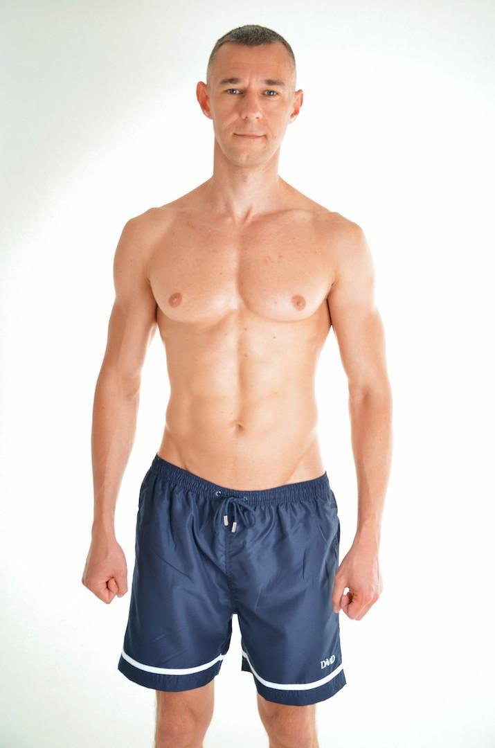 Мужские шорты для купания David Man W 3951 B