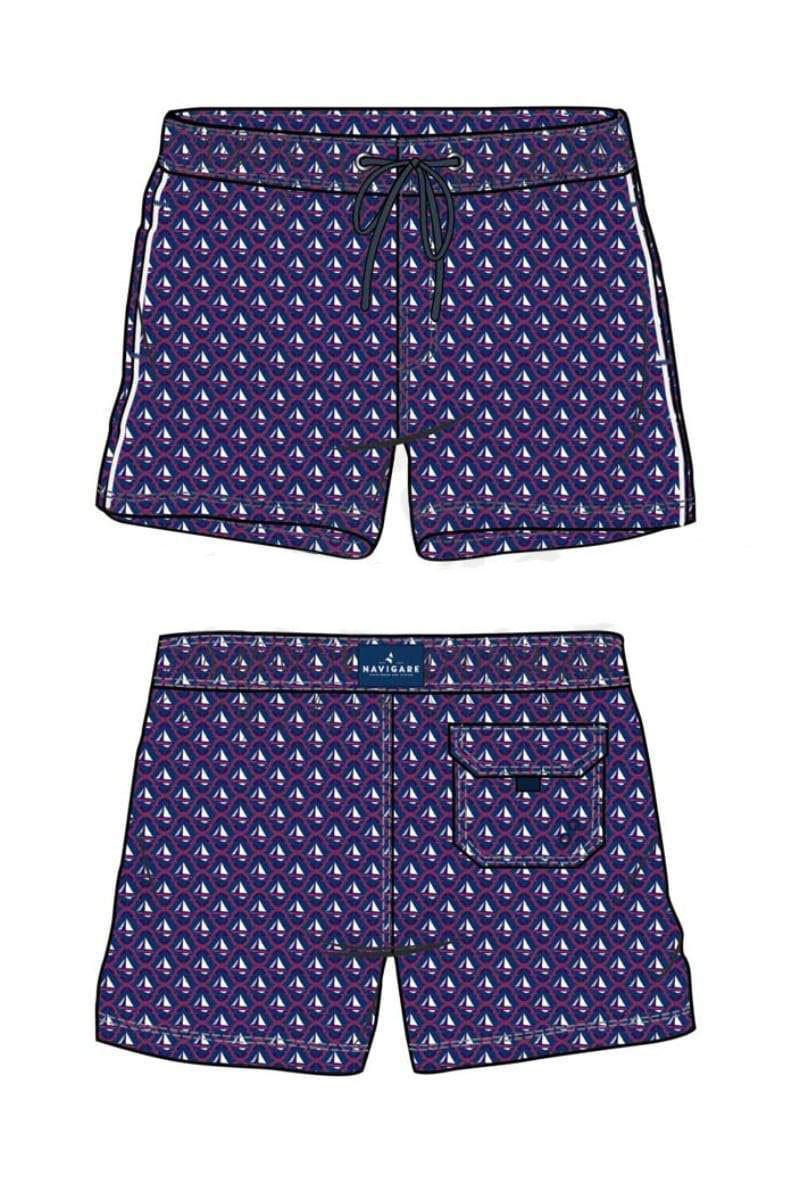 Мужские шорты для купания Navigare Man W  998386 B