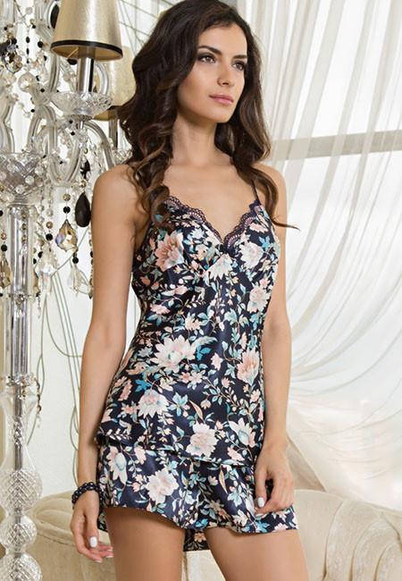 Пижама шелковая Mia-Mia EMILIA 5962