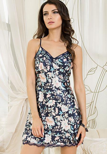 Сорочка для сна шелковая Mia-Mia EMILIA 5964