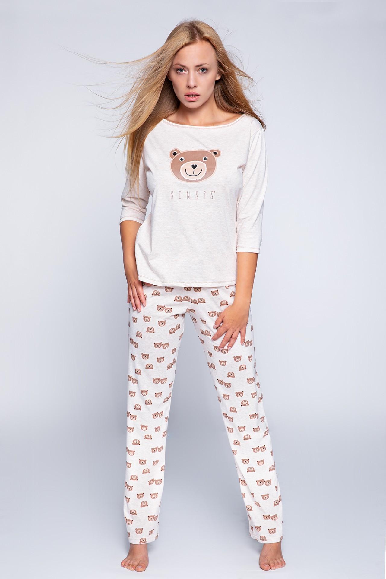 Пижама, хлопок  Sensis Bear