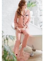 Пижама, хлопок  Ora 100508
