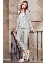 Пижама, хлопок  Infiore 651156