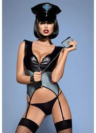 Костюм полицейского Obsessive Police corset