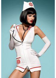 Костюм медсестра Obsessive Emergency dress
