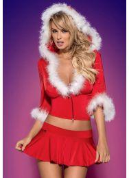 Новогодний костюм Obsessive Santa Lady skirty