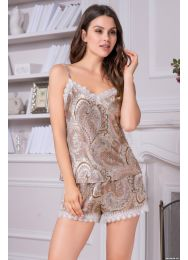 Шёлковая пижама Mia-Mia CLEMENTINA 3452
