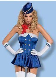 Эротический костюм стюардессы Obsessive