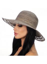 Шляпа пляжная с перфорированным полем Del Mare D 005-32