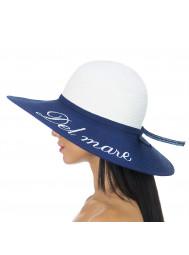 Шляпа пляжная с широкими полями Del Mare D 156-02.05