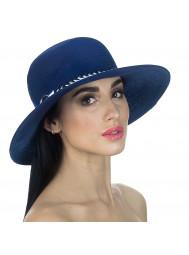 Шляпа пляжная с широкими полями в морском стиле Del Mare D 151-05