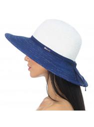 Шляпа пляжная с широкими полями Del Mare 150-02.05