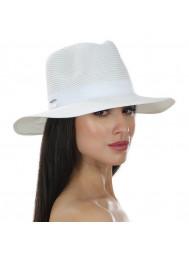 Шляпа пляжная с белой лентой Del Mare D 125-02