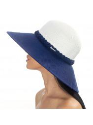 Шляпа пляжная с широкими полями Del Mare 181-02.05