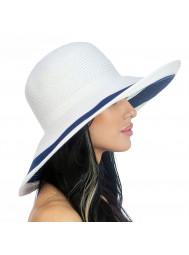 Шляпа пляжная с широкими полями Del Mare D 101-02.05